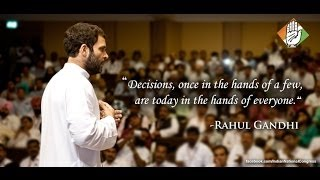 UPA government has empowered every Indian: Rahul Gandhi