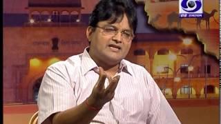 Editor in chief S K Surana of Jan Tv in Dharti Dhorari on Doordarshan(Part 2)