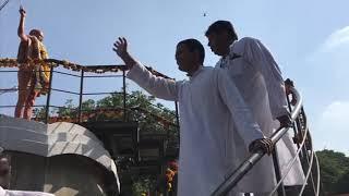 Congress President Rahul Gandhi's Roadshow in Wardha