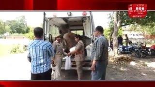 [ Jhansi ] 2 बच्चों व मां को हत्यारे ने पहले धारदार हथियार से हमला किया, फिर फंदा डालकर लटका दिया