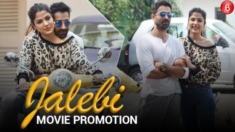 Rhea Chakraborty & Varun Mitra Promote Their Next 'Jalebi'!