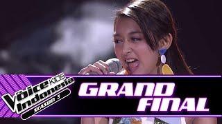 "Keva ""Diamonds"" | Grand Final | The Voice Kids Indonesia Season 3 GTV"
