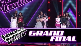 Pengumuman 3 Besar | Grand Final | The Voice Kids Indonesia Season 3 GTV