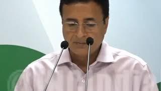Highlights: AICC Press Briefing By Randeep Singh Surjewala on Fuel Price Cut