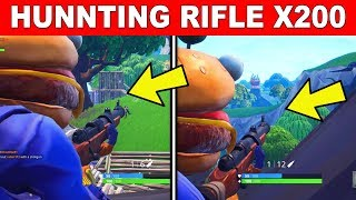 Deal Damage with HUNTING Rifles to opponent FORTNITE CHALLENGE - FORTNITE WEEK 2 CHALLENGES SEASON 6