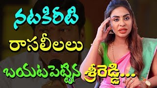Sri reddy controversial comments on rajendra prasad I Rajendra Prasad I Sri Reddy I Rectv India