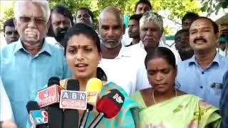 MLA Roja Satires On Chandrababu Naidu | Prathinidhi news