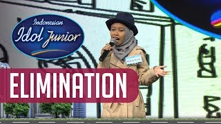 RAISYA OLFAT - BULLY (Naura) - ELIMINATION 2 - Indonesian Idol Junior 2018