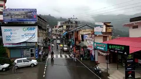 Good Morning Dharamshala   Enjoy the Rain