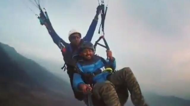 Paragliding at Bir Billing | Lovish