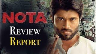 NOTA Movie Review Report - Vijay Deverakonda, Mehreen Pirzada - Bhavani HD Movies