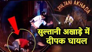 Deepak Thakur INJURED In SULTANI AKHADA With Karanvir | Bigg Boss 12 Weekend Ka Vaar