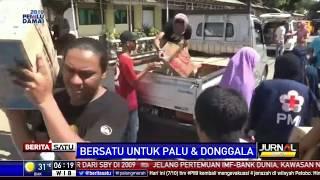 Bantuan Logistik untuk Korban Bencana Palu Masih Menumpuk di Gudang Asrama Haji Sudiang