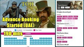 Thugs Of Hindostan Advance Booking Begins In UAE I Screen Time And Ratings