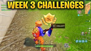 FORTNITE WEEK 3 CHALLENGES LEAKED! WEEK 3 GUIDE TO ALL CHALLENGES IN FORTNITE SEASON 6