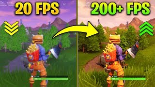 How to Get MORE FPS on Fortnite Season 6 - Increase Performance