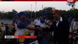 Nalia : Cycle relly as part of Sadbhavna Yatra