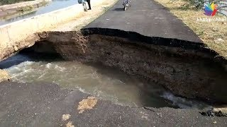 Gallons of water wasted as breach in Narmada canal in Ranpur area of Botad