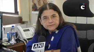 Happy that #MeToo campaign started in India: Maneka Gandhi