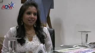 Aishwariya Majmudar Visit Abtak Media House | Abtak Channel