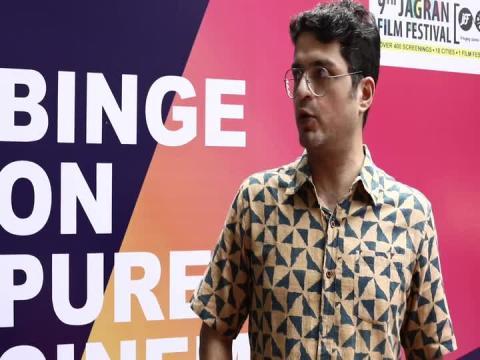 Bollywood Actor Harsh Vashisht at 9th Jagran Film Festival 2018