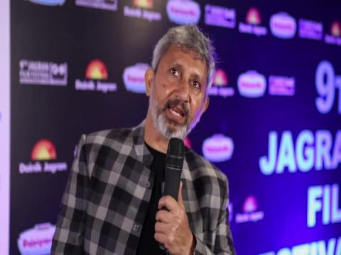 Bollywood Actor Neeraj Kabi at 9th Jagran Film Festival 2018