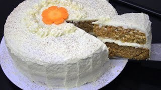 Resep CARROT CAKE atau Bolu Wortel