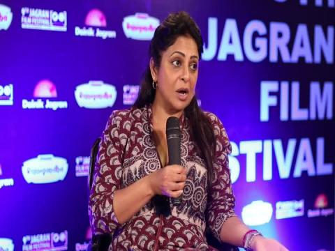 Bollywood Actress Shefali Shah at 9th Jagran Film Festival 2018