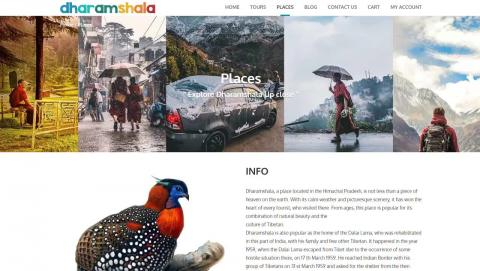 THE NEW OFFICIAL WEBSITE FOR DHARAMSHAL thedharamshala.com has been launched by UNCIA TRAILS