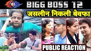 Public Reaction On Anup Jalota And Jasleen FAKE Relationship   Bigg Boss 12