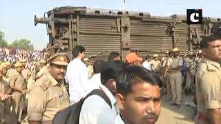 5 dead as 6 coaches of New Farakka Express derail in Raebareli