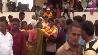 Dolls marriage is being held in jitali village of Gujarat