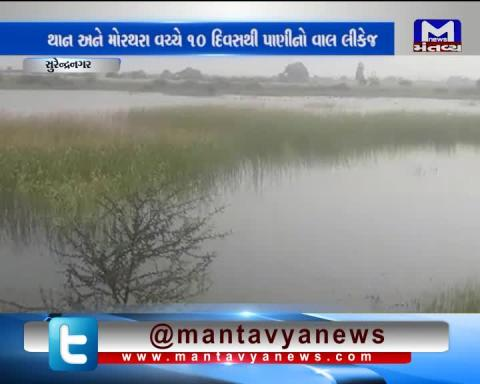 Surendranagar: Water Valve leaking from 10 days between Than & Morthara