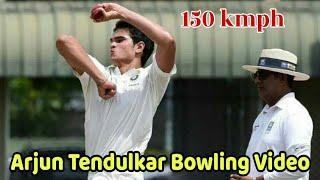 Watch Arjun Tendulkar Bowling Speed & Style | Arjun Tendulkar Bowling Video