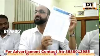 FEROZ KHAN | 90000 Hazar Fake Bogus Votes hai Nampally Mein | Highcourt Mai Case Chalra - DT News