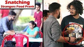 Snatching Stranger's Food Prank in IIT Kanpur   Unglibaaz
