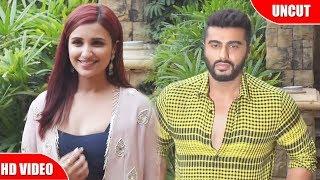 Arjun Kapoor And Parineeti Chopra Spotted Promoting Namaste England