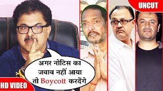 Ashoke Pandit IFTDA President WARNS Alok Nath, Nana Patekar & Vikas Bahl |  Anrgy Reaction