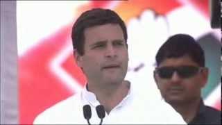 Rahul Gandhi at Public Rally in Balasinor, Kheda Gujarat | March 11, 2014