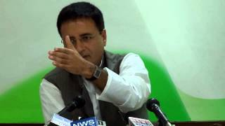AICC Press Conference addressed by Randeep Singh Surjewala on March 12, 2014