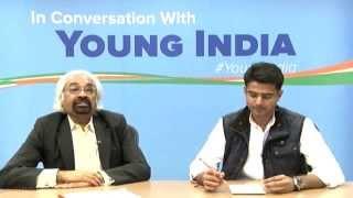 Sam Pitroda & Sachin Pilot in conversation with #YoungIndia