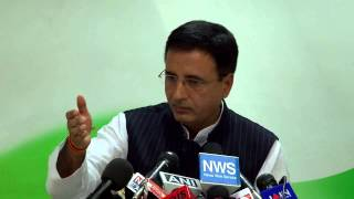 AICC Press Conference addressed by Randeep Singh Surjewala on March 18, 2014