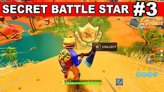 Week 3 SECRET Battle Star LOCATION from Loading Screen in Fortnite Season 6 (Fortnite Battle Royale)