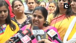 Congress women wing holds protest in support of Tanushree Dutta