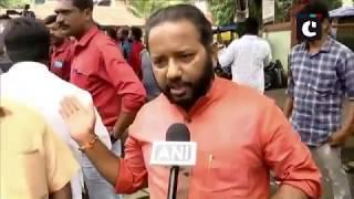 Sabarimala verdict: Bharatiya Janata Yuva Morcha holds protest in Thiruvananthapuram