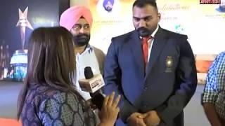 सम्मानित हुए गोल्ड मेडलिस्ट तेजिंदरपाल सिंह से खास बातचीत....