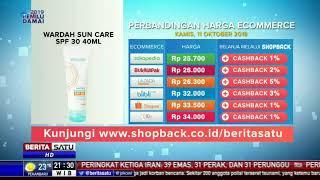 Perbandingan Harga E-Commerce: Wardah Sun Care SPF 30-40 ML