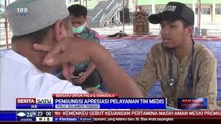 Pengungsi di Palu Terserang Penyakit ISPA