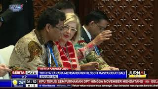Jokowi Sebut Masyarakat Indonesia Paling Bahagia dan Optimistis