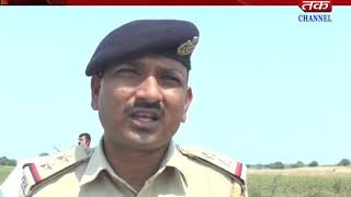 Botad : Destroy the amount of English alcohol by police